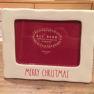 "Rae Dunn ""Merry Christmas"" frame"